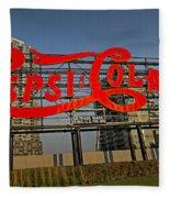 Pepsi Cola Fleece Blanket