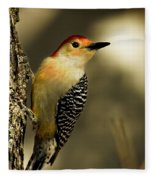 Perched And Ready Fleece Blanket
