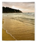 Perfect Sunset Beach Fleece Blanket