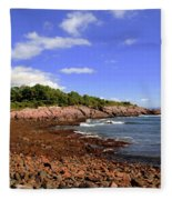 Perkins Cove Fleece Blanket