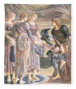Perseus And The Sea Nymphs, C.1876 Fleece Blanket