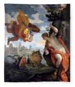 Perseus Rescuing Andromeda Fleece Blanket