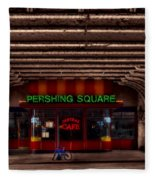 Pershing Square Cafe Fleece Blanket