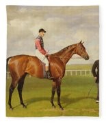 Persimmon Winner Of The 1896 Derby Fleece Blanket