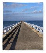 Perspective Pier Fleece Blanket