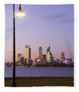 Perth 2am-004259 Fleece Blanket