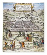 Peru: Cuzco, 1572 Fleece Blanket