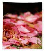 Petals 2 Fleece Blanket