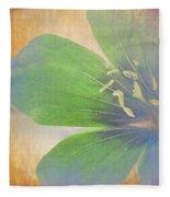 Petals Of Color Fleece Blanket