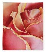 Petals Petals I Fleece Blanket