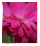 Petals Pink Fleece Blanket