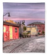 Petaluma Morning Fleece Blanket