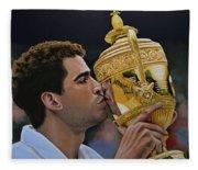 Pete Sampras Fleece Blanket