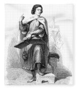 Peter Abelard (1079-1142) Fleece Blanket