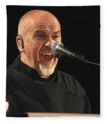 Peter Gabriel Fleece Blanket