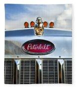 Peterbilt Fleece Blanket