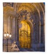 Petite Palais Twilight Fleece Blanket