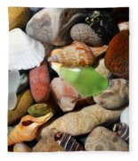 Petoskey Stones L Fleece Blanket