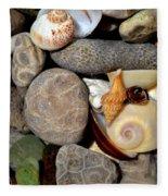 Petoskey Stones Ll Fleece Blanket