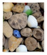 Petoskey Stones V Fleece Blanket