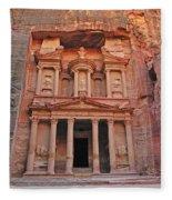 Petra Treasury Fleece Blanket
