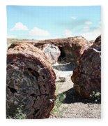 Petrified Timber Fleece Blanket