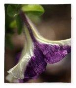 Petunia Fleece Blanket