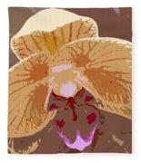 Phalaenopsis Synopsis Fleece Blanket