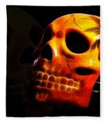 Phantom Skull Fleece Blanket