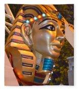 Pharaoh's Canoe Fleece Blanket