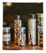 Pharmacist  For All That Ails You Fleece Blanket