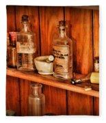 Pharmacy - A Bottle Of Poison Fleece Blanket
