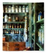 Pharmacy - Back Room Of Drug Store Fleece Blanket