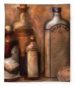 Pharmacy - Indigestion Remedies Fleece Blanket