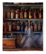 Pharmacy - Master Of Many Trades  Fleece Blanket
