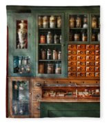 Pharmacy - Medicine - Pharmaceutical Remedies  Fleece Blanket