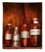 Pharmacy - Pharmacist's Fancy Fluids Fleece Blanket