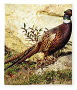 Pheasant Fleece Blanket
