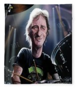 Phil Rudd Fleece Blanket