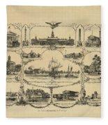 Philadelphia By James Fuller Queen Fleece Blanket