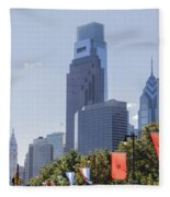 Philadelphia - City On The Rise Fleece Blanket