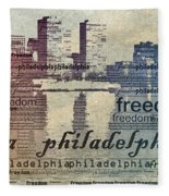Philadelphia Freedom Fleece Blanket