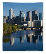 Philadelphia Pennsylvania Fleece Blanket
