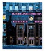 Philadelphia Suburban Station Fleece Blanket