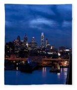 Philadelphia Twilight Fleece Blanket