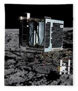 Philae Lander On Comet 67pc-g Fleece Blanket