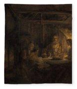 Philemon And Baucis Fleece Blanket