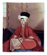 Philip Barker Webb (1793-1854) Fleece Blanket