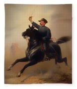 Philip Henry Sheridan Fleece Blanket