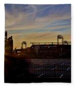 Phillies Citizens Bank Park At Dawn Fleece Blanket
